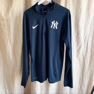 New York Yankees Nike Dri-Fit Quarter-Zip